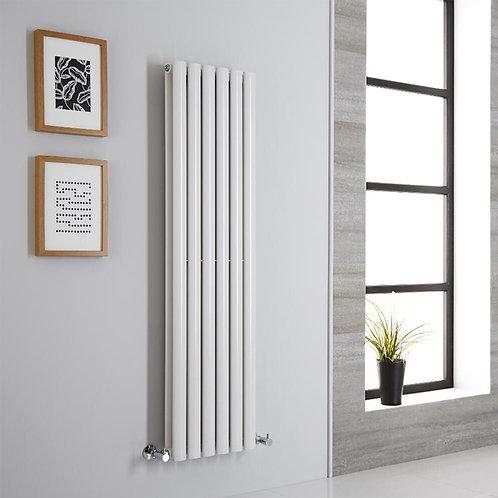 Novi White 1800 x 420mm Vertical Designer Radiator