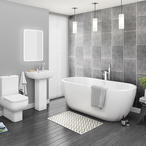 Shelby Modern Bathroom Suite
