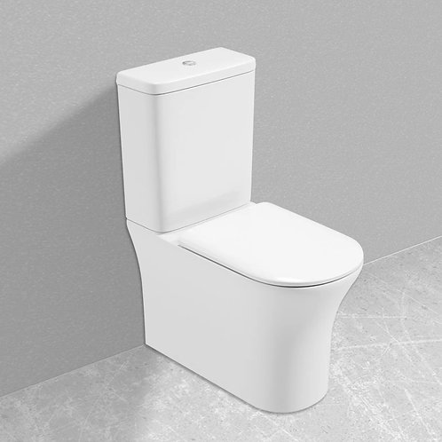 Atti Series 300 Comfort Height, Rimless Design with Soft Closing Seat