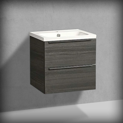 Cadence Gloss Tundra Wood Wall Hung Vanity Unit