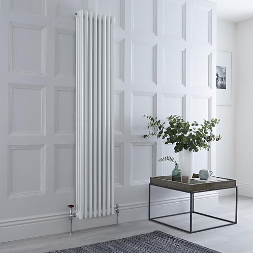 Torino 1800 x 380mm Vertical Traditional Designer Radiator