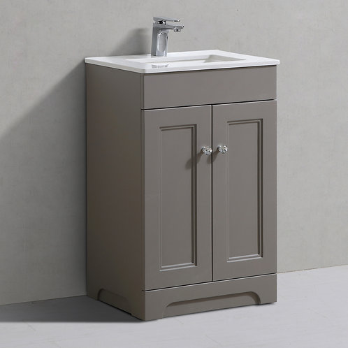 Hyde Bella Grey Freestanding Vanity Unit