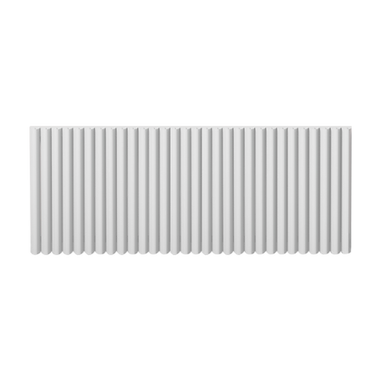 Valerio 550 x 1420mm White Vertical Designer Radiator
