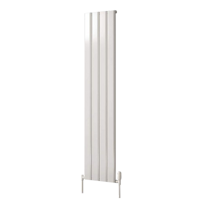 Affinity 1800 x 308mm Single White Vertical Radiator