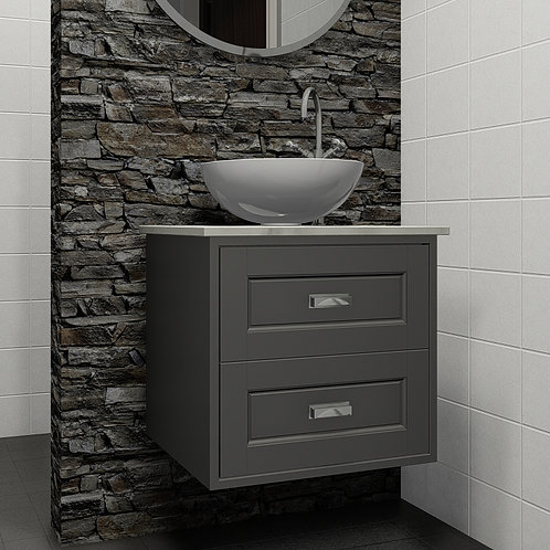 Balmoral Grey Wall Hung Vanity Unit