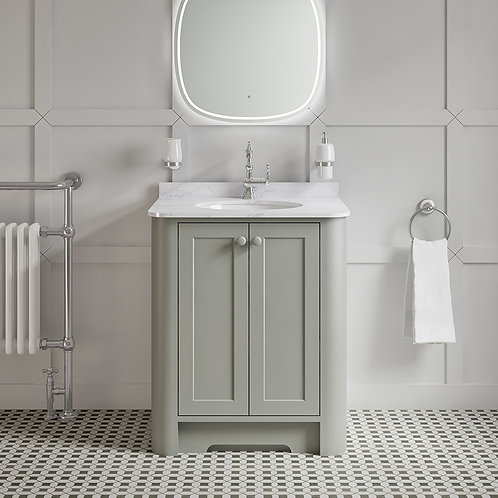 Dunluce Dove Grey Freestanding Vanity Unit