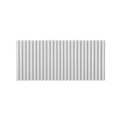 Valerio 550 x 1240mm White Vertical Designer Radiator