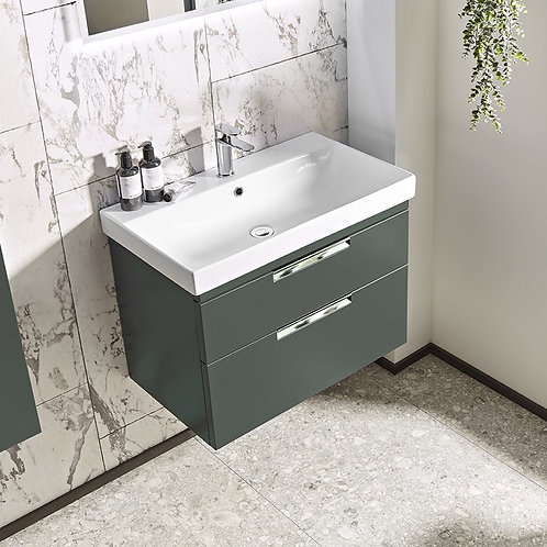 Platform Wall Mounted Wash Unit Gloss Willow