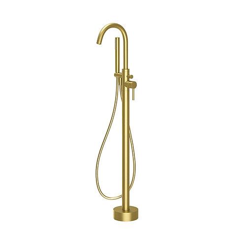 Oro Easy-Plumb Floor Standing Bath Shower Mixer & Kit
