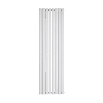 Nika 1800 x 560mm Double White Vertical Radiator