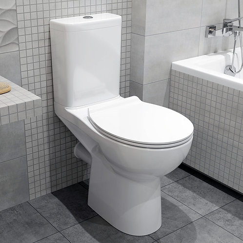 Geti Fully BTW Toilet Pan, Cistern & Seat