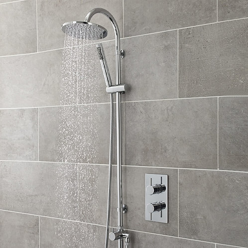 Destiny Exposed Shower Kit With Concealed Valve