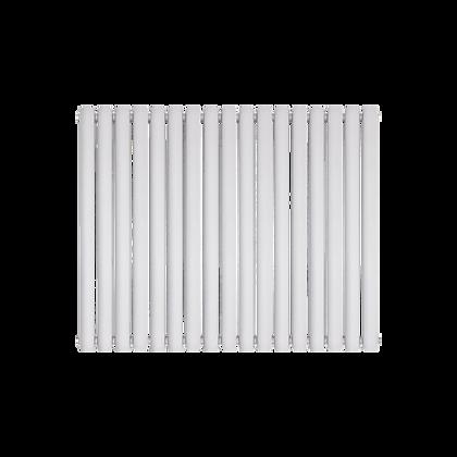 Nika 600 x 1190mm Double White Horizontal Radiator