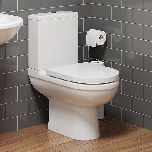 Merida Close Coupled Pan, Cistern And Toilet Seat