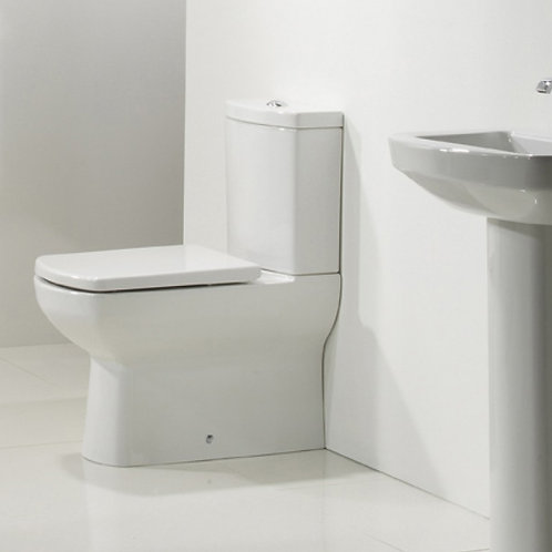 Vibe Close Coupled Toilet With Cistern and Seat