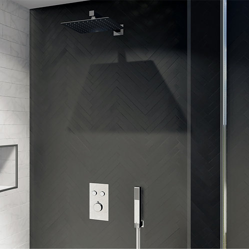Aversa Smart Control Square Concealed Shower Kit