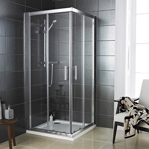 Livari Corner Entry Shower Door