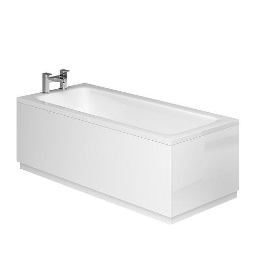 2 Piece Adjustable Panels White Gloss