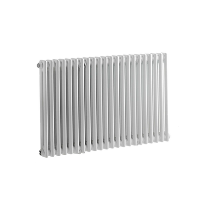 Tradicio 600 x 1190mm White Horizontal Three Column Radiator