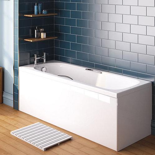 Blarney 1700 x 700mm Twin Grip Bath