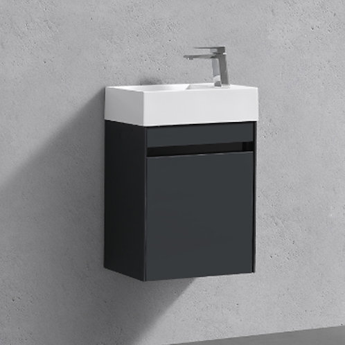 Benni 460mm Anthracite Wall Hung Vanity Unit