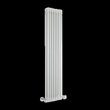 Tradicio 1800 x 380mm White Vertical Three Column Radiator