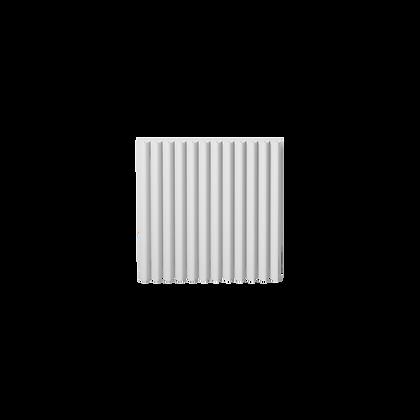 Valerio 550 x 565mm White Vertical Designer Radiator