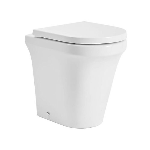 Aerial Comfort Height Back To Wall Toilet With Soft Close Seat