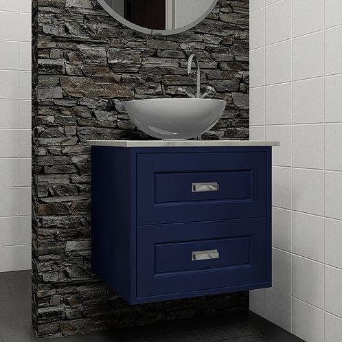 Balmoral Blue Wall Hung Vanity Unit