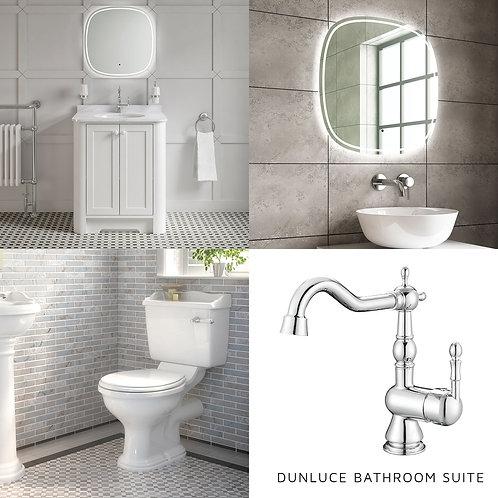 Dunluce White Bathroom Package