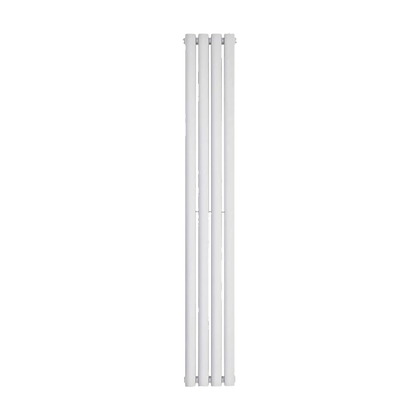 Nika 1800 x 280mm Double White Vertical Radiator