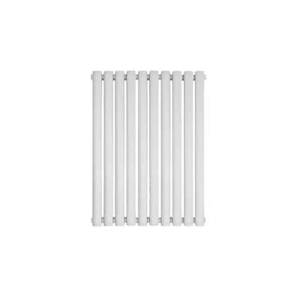 Nika 600 x 700mm Double White Horizontal Radiator