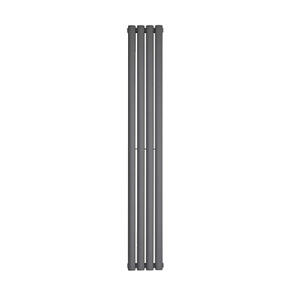 Nika 1800 x 280mm Double Anthracite Vertical Radiator