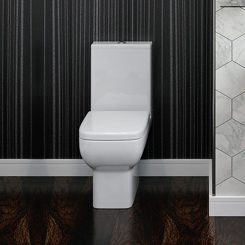 Novo OB Toilet Pan, Cistern & Soft Close Seat