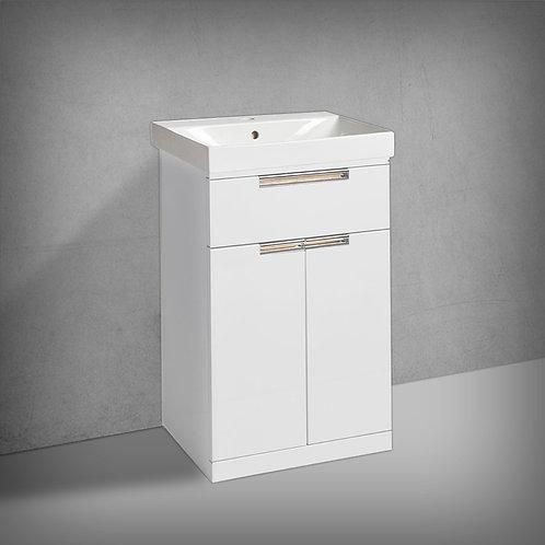 Platform Freestanding Wash Unit Gloss White