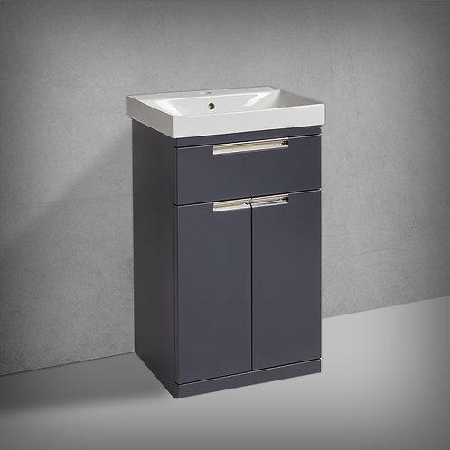 Platform Freestanding Wash Unit Midnight Grey