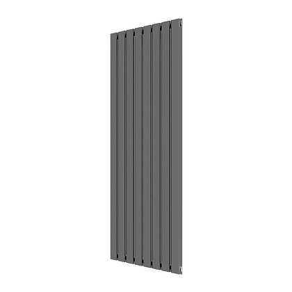 Affinity 1800 x 616mm Double Anthracite Vertical Radiator