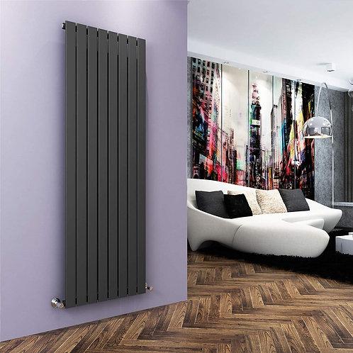 Ardea Anthracite 1800 x 616mm Single Vertical Designer Radiator