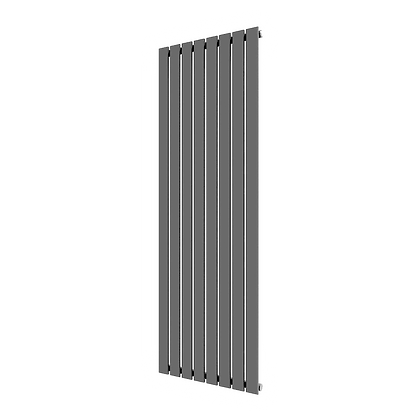Affinity 1800 x 616mm Single Anthracite Vertical Radiator