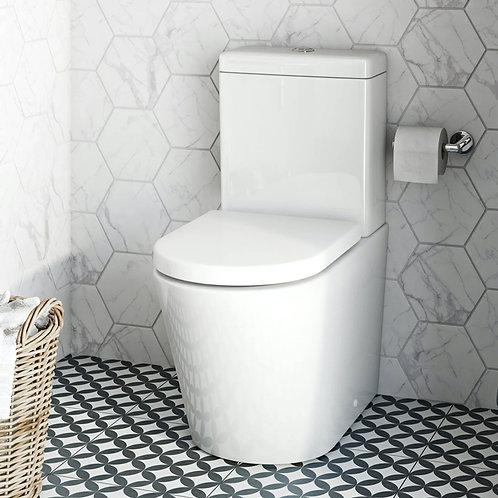 Atti Series 200 Semi Rimless Close Coupled Toilet