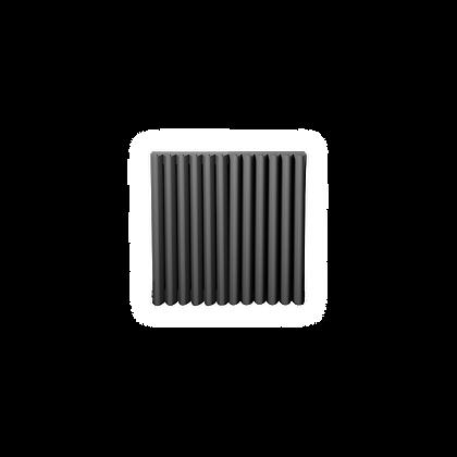 Valerio 550 x 565mm Anthracite Vertical Designer Radiator