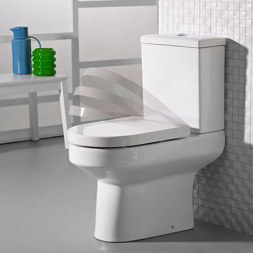 Debut Close Coupled Pan, Cistern & Soft Close Seat