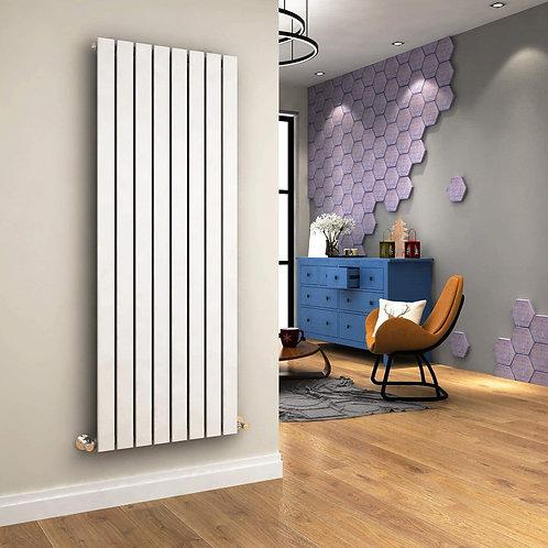 Ardea White 1800 x 616mm Single Vertical Designer Radiator