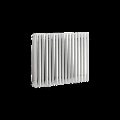 Tradicio 600 x 830mm White Horizontal Three Column Radiator