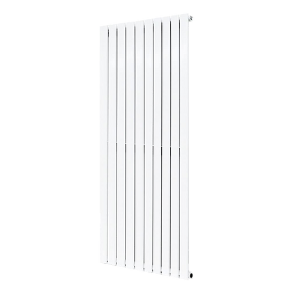 Affinity 1800 x 616mm Single White Vertical Radiator
