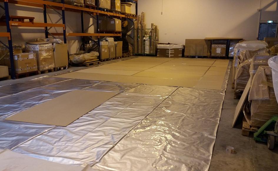 Protection du tapis d'anoxie dynamique