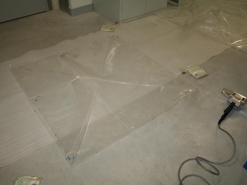 Fabrication de bulles d'anoxie statique