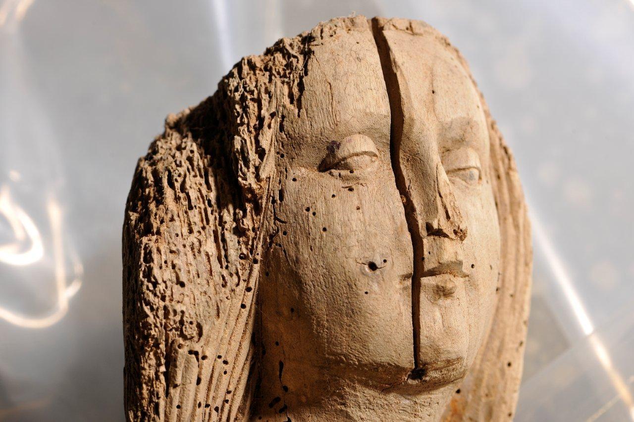 détail d'une sculpture