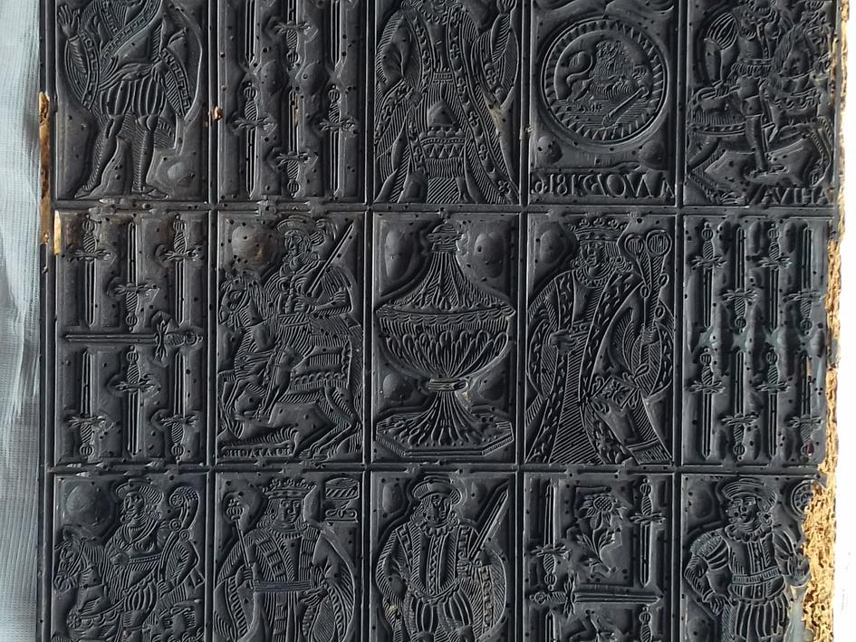 Matrices de cartes à jouer, Musée D'Agesci de Niort