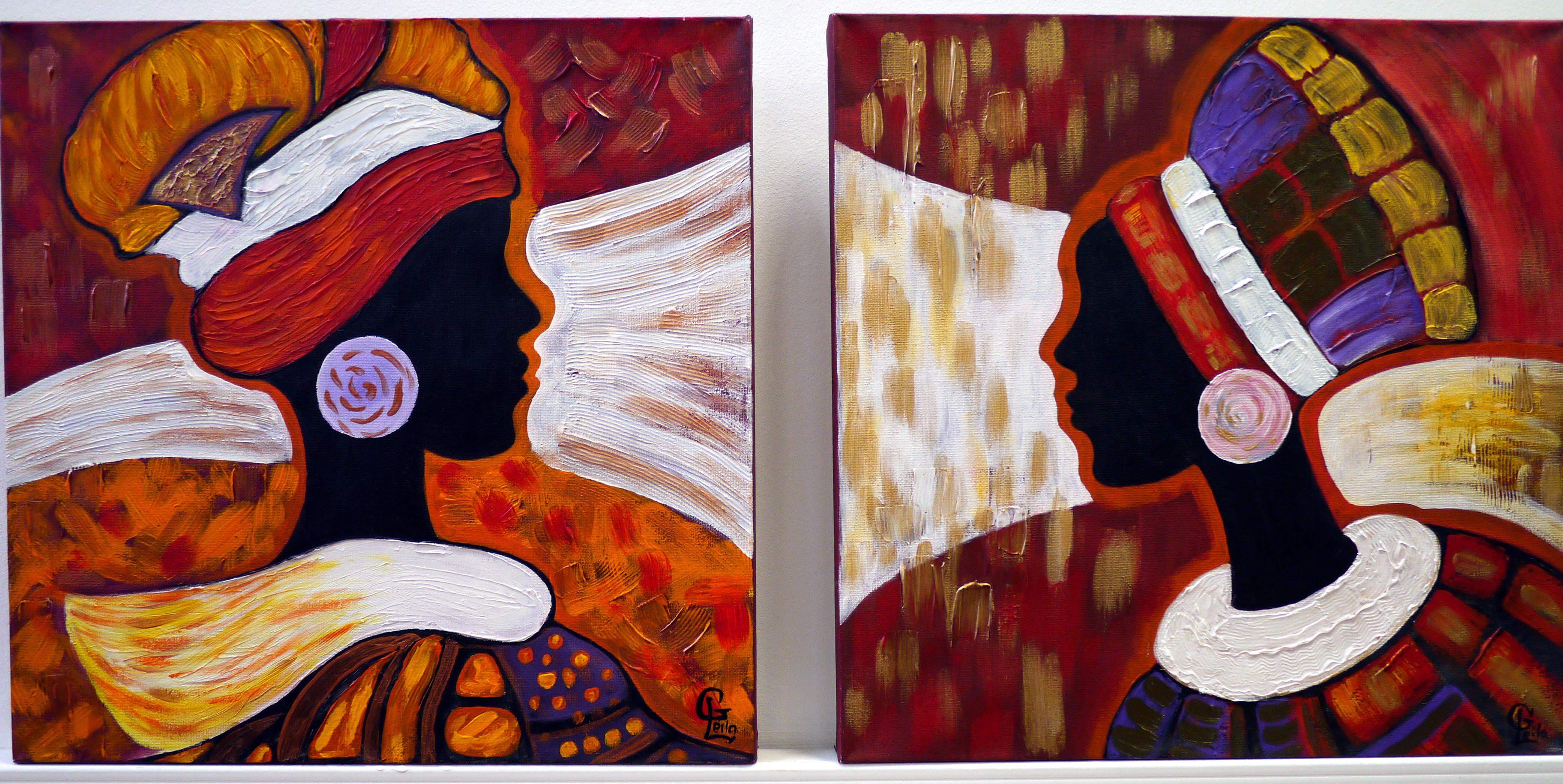 Гаджиева Лейла Африканки диптих